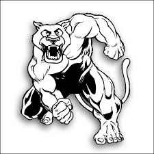 cougar clipart angry pencil and in color cougar clipart angry