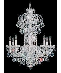 Swarovski Crystals Chandelier Lighting Schonbek Lighting Crystal Chandeliers Ebay Ebay