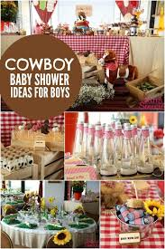 western baby shower bouncing baby buckaroo cowboy themed baby shower themed baby