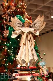 christmas trees made out of recycled materials google search