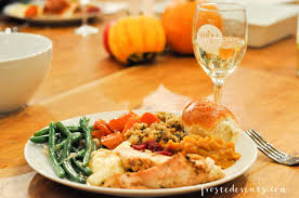 thanksgiving dinner turkey tablescape and more with whole foods and