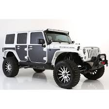 armored jeep wrangler unlimited smittybilt mag armor magnetic trail skins 4 doors jk
