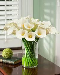 home decoration green silk orchid fake floral arrangements