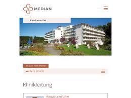 Median Klinik Bad Bertrich Median Klinik Wismar Klinikleitung