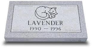 granite grave markers standard granite grave marker for pets by everlife memorials