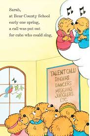 berenstien bears berenstain bears and the talent show put me in the story put me