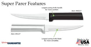 rada kitchen knives the largest paring knife easy to grip paring knives rada cutlery