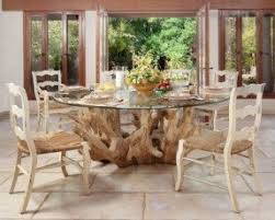 Round Glass Dining Table Wood Base Foter - Glass dining room