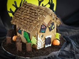 how to make a haunted gingerbread house food network halloween