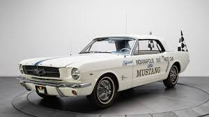 mustang of indianapolis is this 1964 ford mustang pace car worth the price autoblog