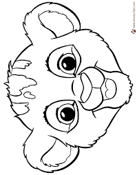 lion king coloring pages disney coloring book