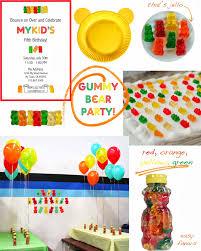 party gummy bears