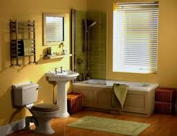 yellow tile bathroom ideas bathroom classicow decoration ideas with wooden and white