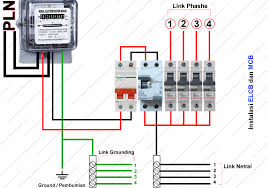 cara memasang elcb earth leakaque circuit breaker tukang