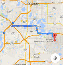 Orlando Outlets Map by Ambitious Your Guide To Getting The F Off I 4 And Using