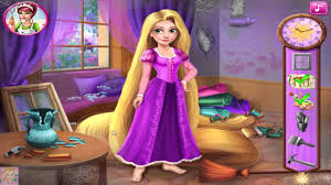 rapunzel u0027s painting room disney princess rapunzel game room