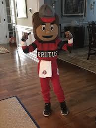 Brutus Buckeye Halloween Costume