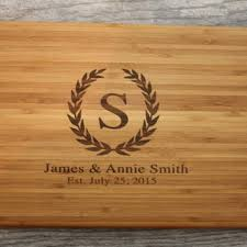 monogramed cutting boards personalized cutting board wedding from ourcuttingboard on etsy