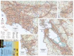Sacramento Zip Code Map by Benchmark California Road Map Benchmark Maps National Geographic
