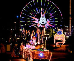 disney electric light parade electrical parade unplugged sent back east as dca preps for