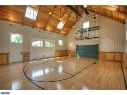 Basketball Court In Backyard Cost by 16 Homes With Basketball Courts You Can Buy Now Huffpost