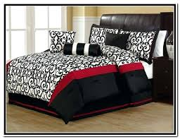 red white comforter sets red black and white comforter sets