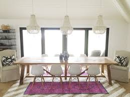 Kendall College Dining Room Pop Of Colour Eclectic Dining Room Reveal The Leslie Style