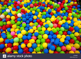 many colour plastic balls for background plastic balls in kid