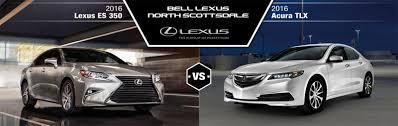 lexus es iihs 2016 lexus es 350 vs 2016 acura tlx in north scottsdale az