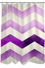 Purple Ombre Curtains 47 Best Purple Chevron Shower Curtain Images On Pinterest