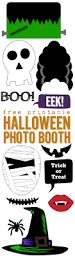 free printable halloween photo booth paper trail design