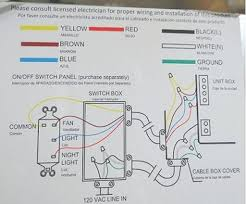 can i install bathroom fan in wall installing nutone with light