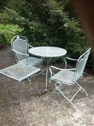 How To Paint Metal Patio Furniture Patio Metal Patio Table Design Ideas Metal Patio Chairs And Table