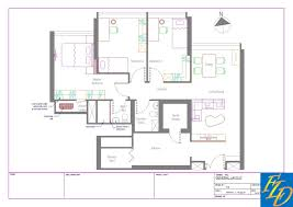 Hdb Flat Floor Plan Freelance Drafting Hdb 4 Room Flat
