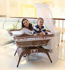 Swinging Crib Bedding Sets Amazon Com New Intelligent U0026 Electric Swing Baby Crib Cot With