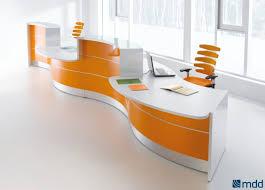 Semi Circular Reception Desk Valde Right 2 Countertops Curved Large Reception Desk High Gloss