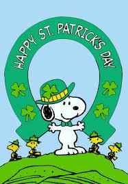happy st patrick u0027s day charles m schulz saint patrick u0027s day