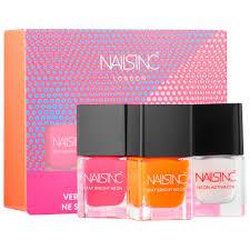 stay bright neon nail polish set nails inc sephora