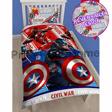 Marvel Bedding Character And Themed Single Duvet Cover Kids Bedding Sets Avengers