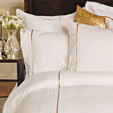 Gold Bedding Sets White And Gold Bedding So Chic District Pinterest