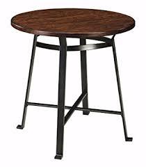 amazon com ashley furniture signature design challiman dining