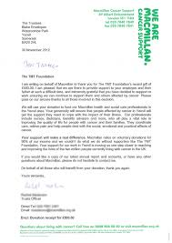 Charity Giving Letter Sample Cover Letter For Support Worker