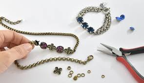 necklace making chains images Creating jewelry with bracelet cup chain jpg