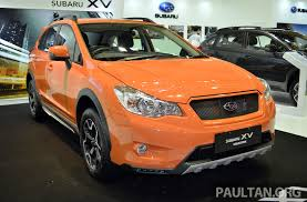 subaru orange crosstrek subaru xv crosstrek u2013 55 unit limited edition rm162k image 210083