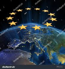World Map At Night by European Union Night Earth Map Nasa Stock Illustration 70309810