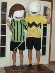 Charlie Brown Costume Coolest Homemade Peanuts Cartoon Costumes Awesome Group Costume