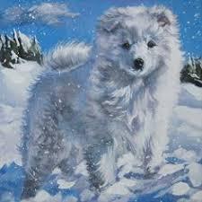 american eskimo dog tattoo american eskimo dog with angel lynch folk art print american