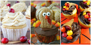 thanksgiving cup cakes 12 easy thanksgiving cupcakes cute decorating ideas and recipes
