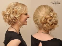 side bun updo google search hair pinterest side bun updo