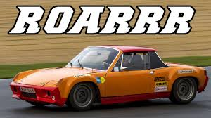 porsche 914 outlaw loud porsche 914 6 gt roaring around the track youtube